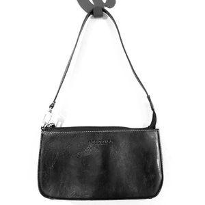 💙 Kenneth Cole Reaction Black Leather Bag